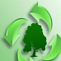 绿色环保主题PPT模板免费版