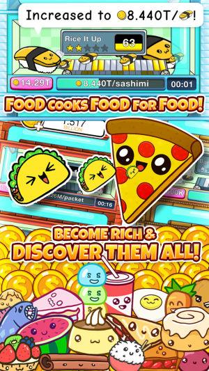 可爱的食物们游戏图2