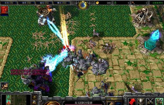 魔兽地图神界危机最新版图1