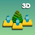 瓶子翻转和搭房子3D游戏