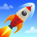 空转火箭天空游戏