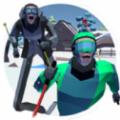 滑雪比赛游戏