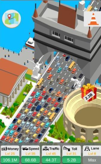 闲置的公路收费站游戏图1