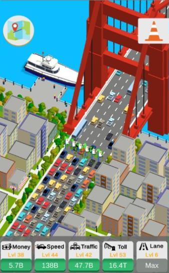 闲置的公路收费站游戏图3