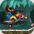 翻滚摩托车游戏