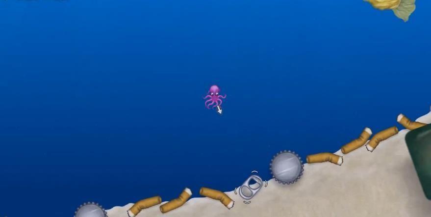 章鱼吃垃圾游戏图1