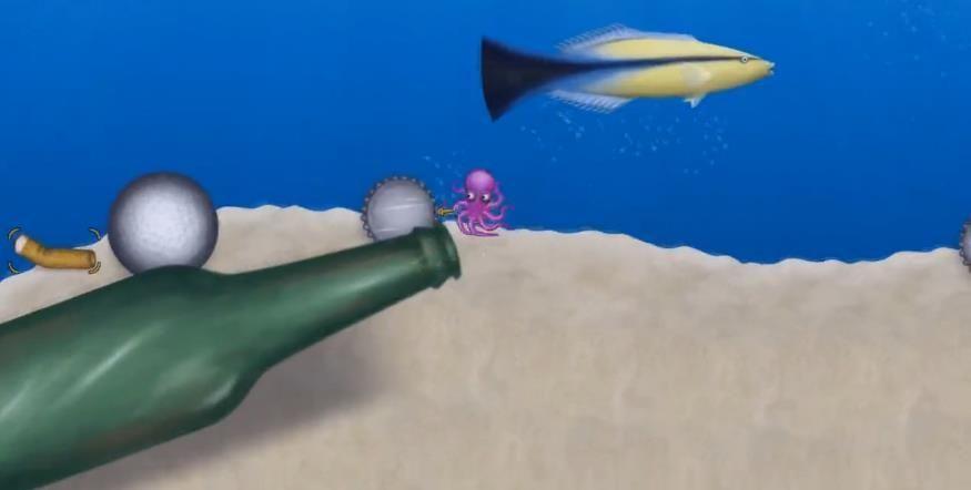 章鱼吃垃圾游戏中文汉化版图片1