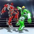 真正的机器人钢笼摔跤游戏