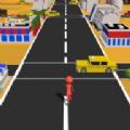 人类疯狂过马路游戏