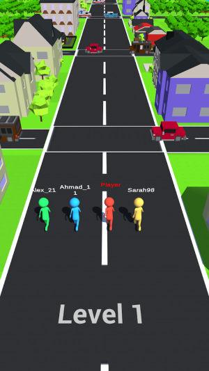 人类疯狂过马路游戏图1