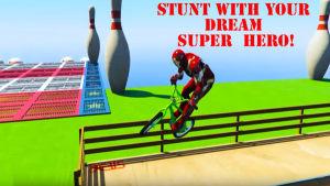 威漫英雄自行车游戏图2