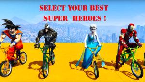 威漫英雄自行车游戏图1