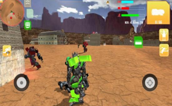 机器人自由开火游戏图2