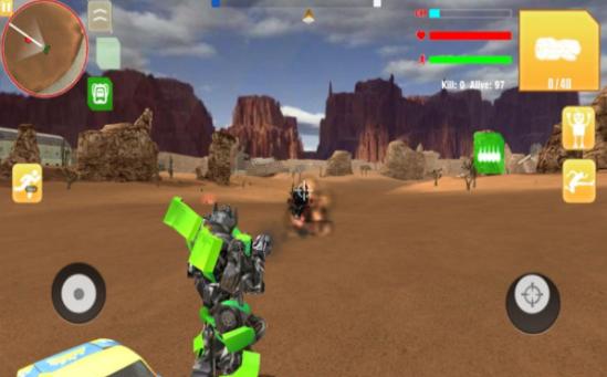 机器人自由开火游戏图3