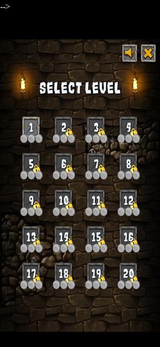 地牢勇士逃脱游戏图1