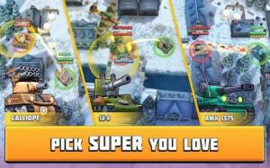 坦克战斗趣味PvP竞技游戏图2