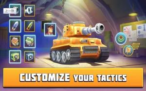 坦克战斗趣味PvP竞技游戏图1