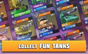 坦克战斗趣味PvP竞技游戏图3