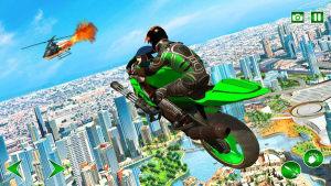飞行英雄模拟器游戏图1