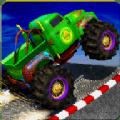 舞台特技怪物卡车3D游戏